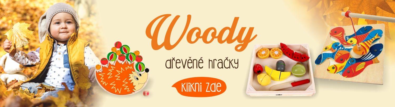 Woody dřevěné hračky