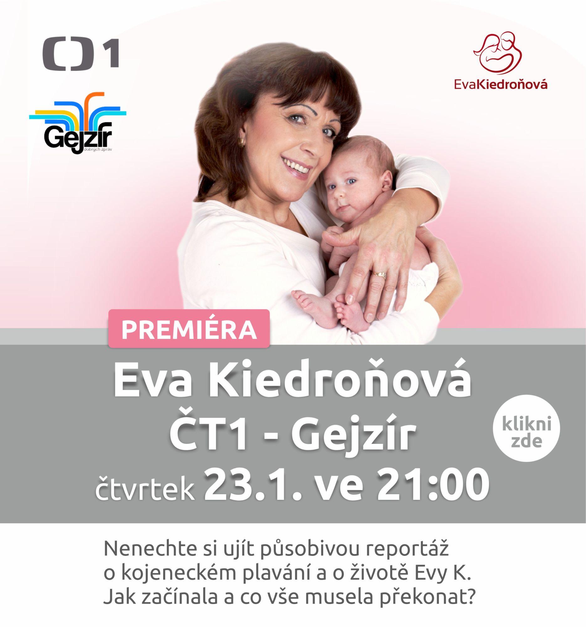 Eva Kiedroňová ČT1