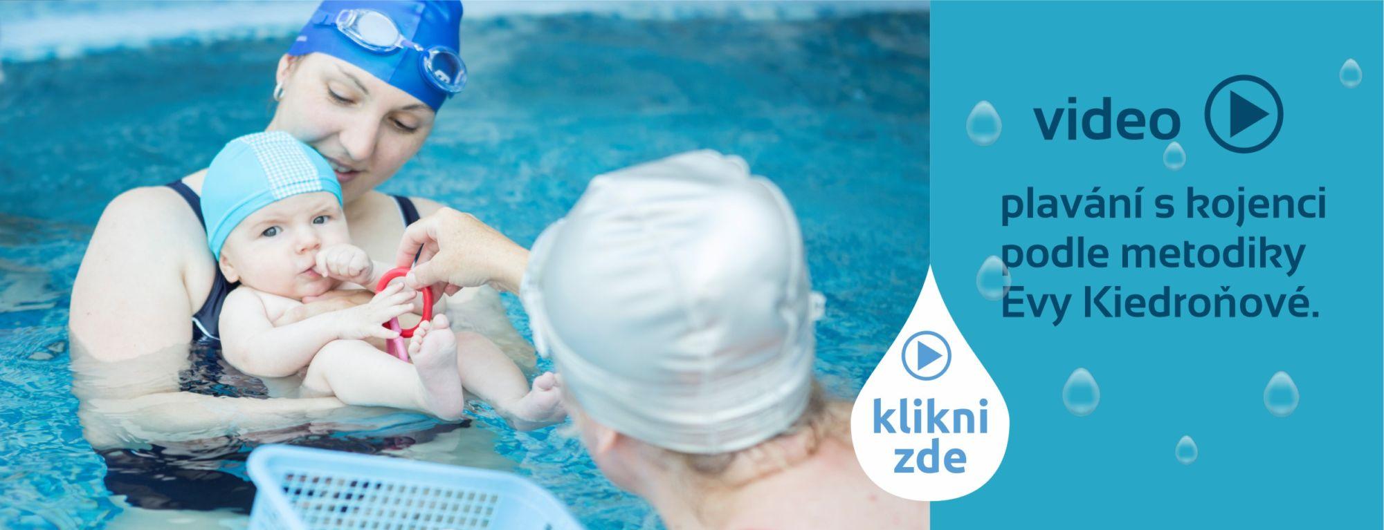 Eva Kiedroňová plavání